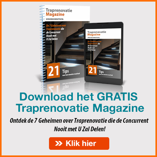 Gratis traprenovatie magazine