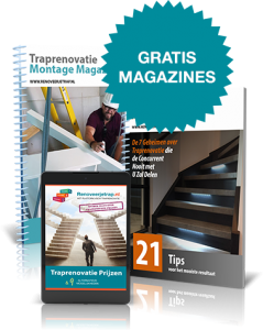 Gratis traprenovatie magazines